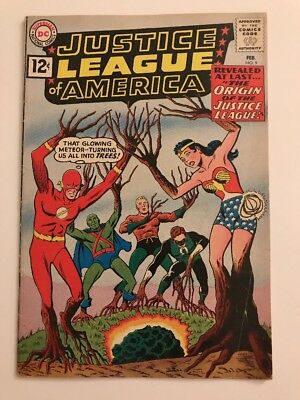 Justice League Of America #9 // Origin Jla // Vg/fn
