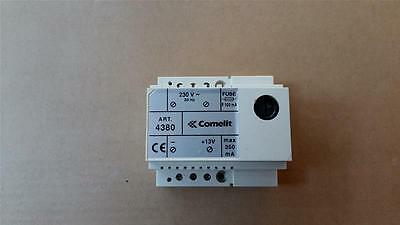 Comelit 4380 Power Supply 220/12V Dc 30MA