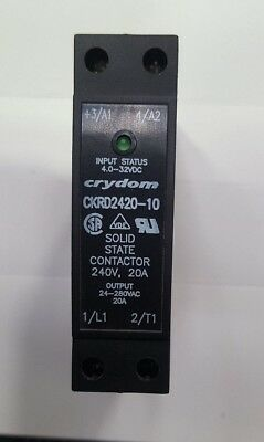 Crydom Ckrd2420-10 Solid State Relay (In37S3B4)