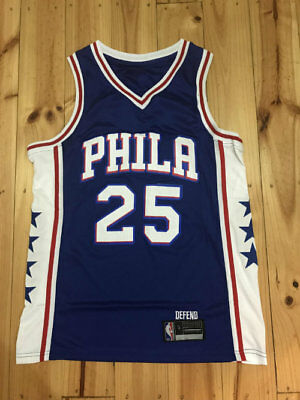 ADULT NBA BASKETBALL JERSEY #25 BEN SIMMONS PHILADELPHIA 76ers JERSEYS