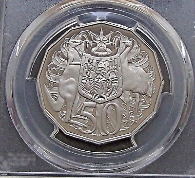 2013 Australia Proof Fifty 50 Cent Coin - PCGS Graded PR70DCAM None Finer