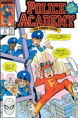 Marvel Police Academy #5 First Print 1990