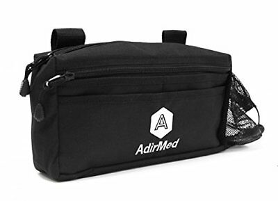 AdirMed Wheelchair Pouch - Rollator Pouch - Walker Pouch - Black Free Shiping