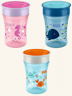 NUK Magic Cup 230ml Baby Trinkbecher Trinklernbecher in 3 versch. Motiven