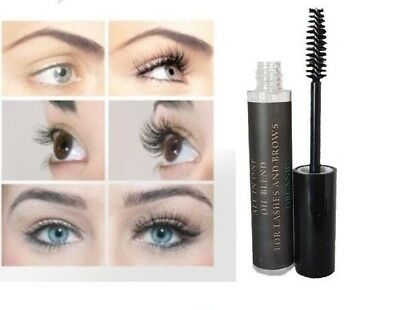 Eyelash Eyebrow Growth Serum Organic Castor Oil Burdock D-Panthenol Vitamin E