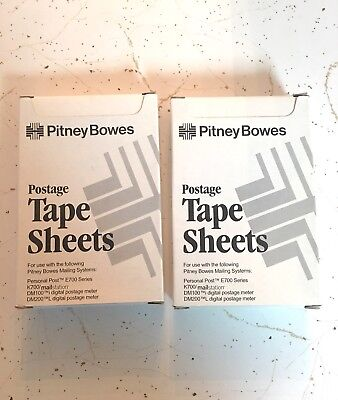 New- Unopened Pitney Bowes Postage Tape Sheets