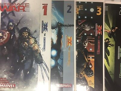 Ultimate War 1-4 VF/NM 1 2 3 4 Complete