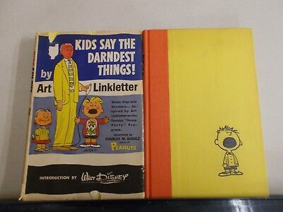 2 ART LINKLETTER KIDS SAY THE DARNDEST THINGS and STILL SAY DARNDEST HARDCOVER