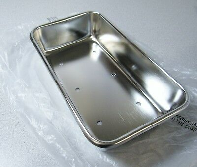 """POLAR WARE 952-HPT INSTRUMENT TRAY Perforated Stainless Steel, 8-7/8"""" x 5"""" x 2"""""""