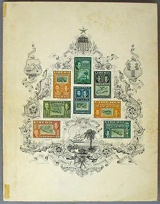 S723) A Century of Liberian Philately by Henry H.Rogers - Published by Bileski