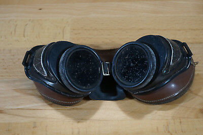 Antique Steampunk Welding Goggles Safety Glasses Vintage