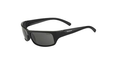 31b6eee911 Bolle Men Black Frame Gray Lens Sunglasses BO11938 FIERCE New w  Case ITALY