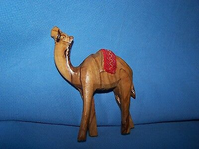 Olive Wood Camel from Israel