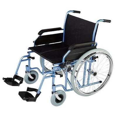 Omega HD1 Wheelchair - rear wheels with solid tyres