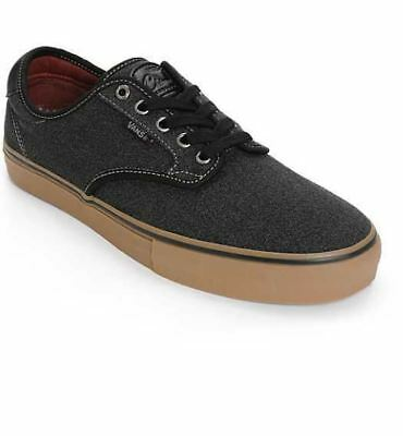 6d6b9ba6 NEW IN BOX Men's 8 Vans Chima Ferguson Pro Covert Twill Black Gum Skate  Shoes