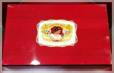 CLEARANCE down from $150 Cuesta Rey Cedar Wood Lined Lacquered Cigar Humidor