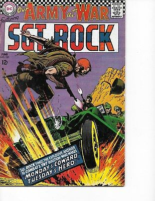 Our Army at War #181 (Sgt Rock  FN/VF  7.0) Jun-1967, DC