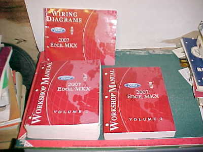 2007 FORD EDGE LINCOLN MKX WORKSHOP MANUAL SET W/ WIRING ...  Ford Edge Wiring Diagram on 2009 ford mustang wiring diagram, 2010 ford f350 wiring diagram, 2008 subaru tribeca wiring diagram, 2007 ford edge spark plug removal, 2011 ford super duty wiring diagram, 2011 ford focus wiring diagram, 2004 ford f-250 wiring diagram, 2008 ford mustang wiring diagram, 2006 ford crown victoria wiring diagram, 2014 ford f150 wiring diagram, 2008 ford crown victoria wiring diagram, 2007 ford expedition wiring-diagram, 2007 ford edge exhaust, 2003 ford excursion wiring diagram, 2007 ford edge manual, 1995 ford aspire wiring diagram, 2012 ford escape wiring diagram, 2001 ford explorer sport wiring diagram, 2010 ford mustang wiring diagram, 1995 ford crown victoria wiring diagram,