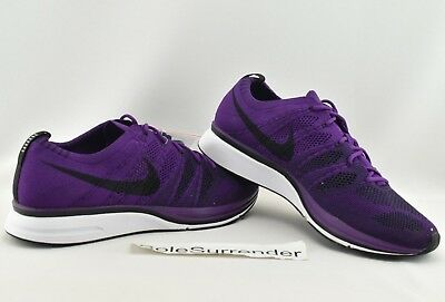 826ecb06e5d5f Nike Flyknit Trainer - SIZE 11 - NEW - AH8396-500 Night Purple White Black