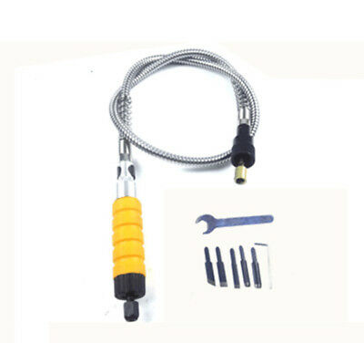 Metal Flexible Steel Shaft for Electric Wood Carving Knife Chisel Rotary Tool