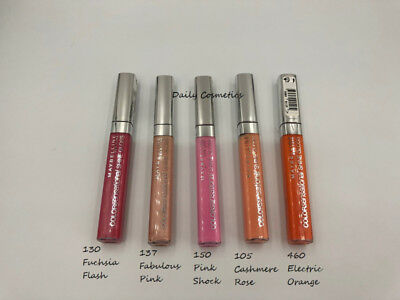 Maybelline Colorsensational Shine Gloss 5 Shades