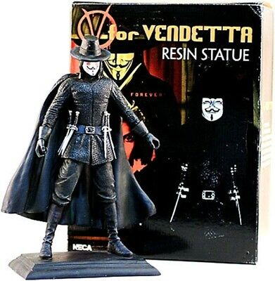 V FOR VENDETTA Guy Fawkes estatua resina 30cm ltd 1500 de Neca