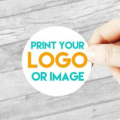 Custom Logo Stickers Large 63.5mm Personalised Business/Company Name Labels