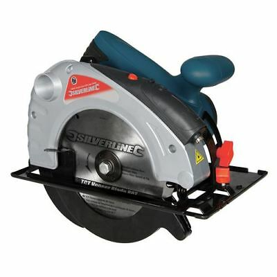 Silverline 285873 Silverstorm 1400W Circular Saw with Laser Guide 185mm 185mm