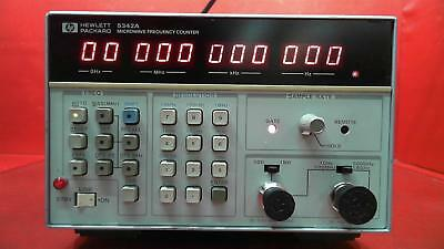 HP - Agilent - Keysight 5342A Frequency Counter, 10MHz to 18GHz