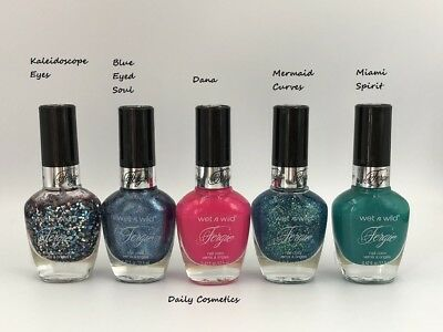 Wet N Wild Fergie Nail Polish 17 Shades