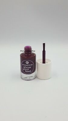 Essence SHow Your Feet Toe Nail Polish 32 Purple-licious