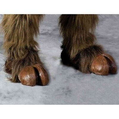 Clooven Hooves,Shoe Covers,  Brown Or Grey One Size Fits Most, Zagone, Costume