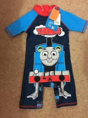 Thomas the Tank Engine Baby Boys Swimsuit All In One 18-24 Months BNWT Sunsafe