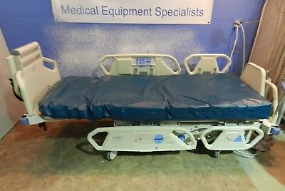 Hill-Rom P-1900 Total Care Bed with Pressure Reducing Foam Mattress,Scale etc...