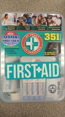 New OSHA & ANSI Emergency First Aid Kit 351 Piece For Workplace, Home, Day Care