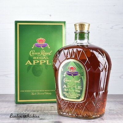 Crown Royal Regal Apple Whisky Liqueur 1000ml Limited Edition
