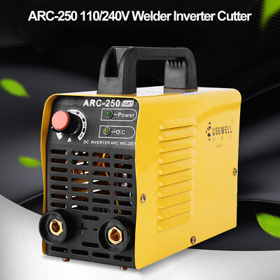 ARC-250 160A 110V/220-240V 2P Welder Inverter Cutter MIG MAG ARC Welding Machine