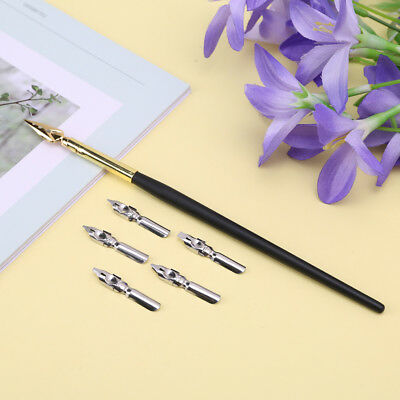 Calligraphy Drawing Dip Ink Nib Pen Set Signature Writing Antique Elegant Gifts