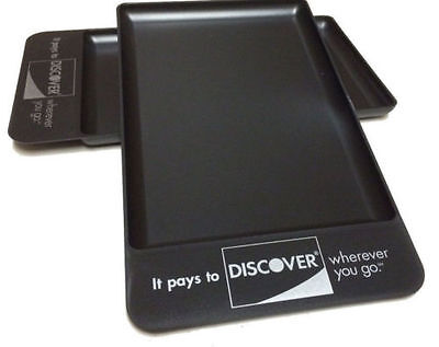 25 Discover Tip Trays Restaurant, Bar, Check Presenters, Fast Free Ship Sale!!!