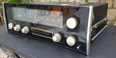 McIntosh MX113 Stereo Preamplifier Tuner FM AM PHONO Preamp Nice w/ Manual