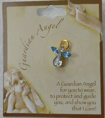 GUARDIAN ANGEL Birthstone Lapel Pin, Hat Pin, DECEMBER, Great Gift Item