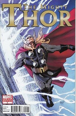 MIGHTY THOR 5   ...VF/NM  ...2011 ..1:20 Variant Cover...Bargain!