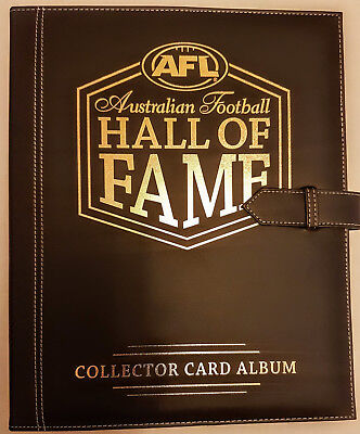 2018 SELECT AFL Football Hall Of Fame Collector Trading Card Album Sealed New