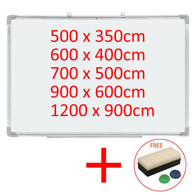 Dry Wipe Magnetic Whiteboard White Notice Memo Board Office Meeting School Home