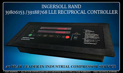 39806153 Ingersoll Rand 39188768 Reciprocal Intellisys Control With Warranty