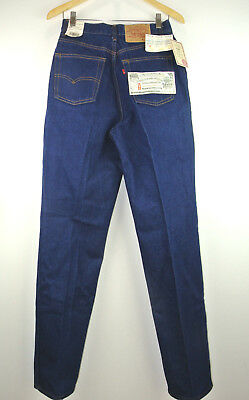 46a3f4c31d LEVI'S Vintage 505 Mom Jean High Waist Raw Denim NEW Made in USA 28 x 34