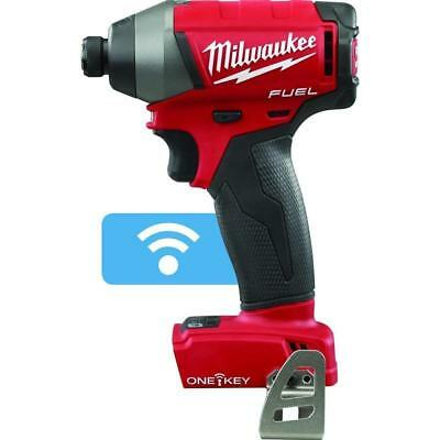"New Milwaukee 2757-20 M18 18V FUEL 1/4"" Hex Impact Driver ONE-KEY (Tool Only)"