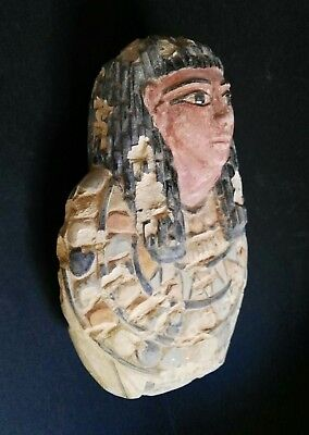 Noble Bust Of The Ancient Egypt