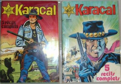 LOT 2 bd West KARACAL (1976)   n°1 et n°2 tbe