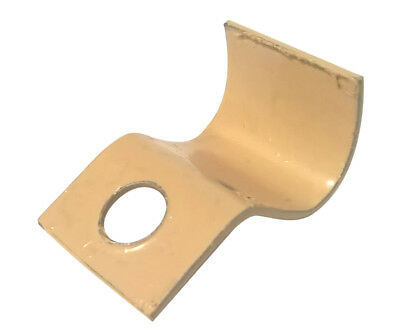 7/16 inch No. 8 Steel Cable Clamp, Painted Sand Beige, 2500 Clamps,  M.M. Rhodes
